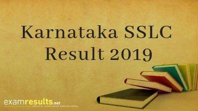 Karnataka Class 10 Results 2019