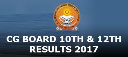 CG Board Results 2017