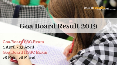 Goa Results 2017
