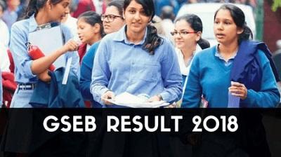 GSEB Result 2018