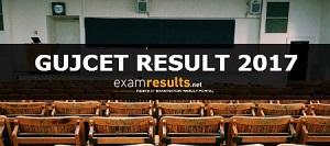 GUJCET Result 2017
