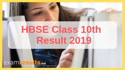 HBSE Board 10th result 2019, HBSE 10th Class result download here