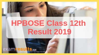 HP Class 12th results 2019