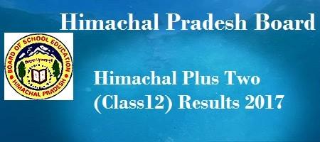 Himachal Pradesh Class 12 Results 2017