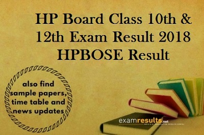 HP Board Result 2018