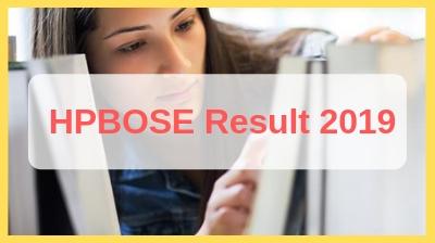 HP Board Result 2019