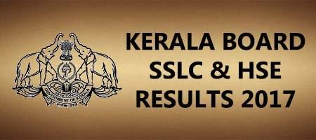 kerala board sslc hse results 2017