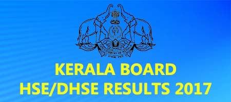 Kerala HSE DHSE Results 2017