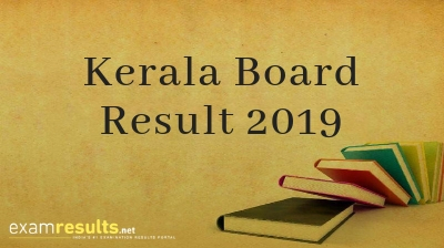 Kerala Board Result 2019