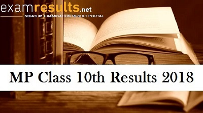MP Board 10th Results 2018