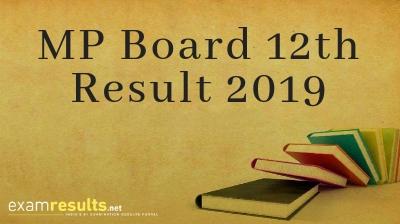 MP Board 12th Results 2019