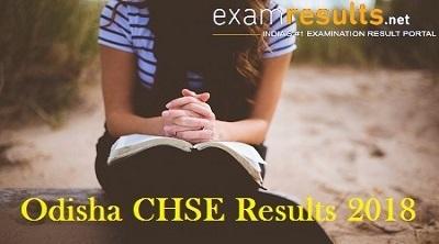 Odisha CHSE Results 2018