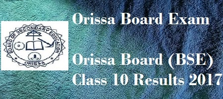 Odisha 10th results 2017
