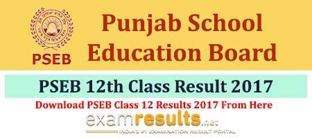 Punjab Class 12 Results 2017