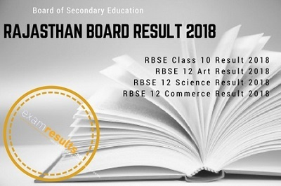 rajasthan board result 2018