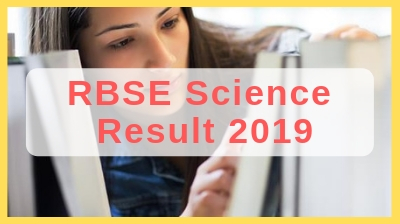 rajasthan class 12th science result 2019
