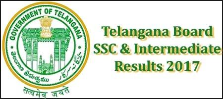 ts board ssc intermediate results 2017