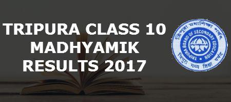 Tripura Class 10 Results 2017