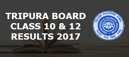 TBSE Board Results 2017