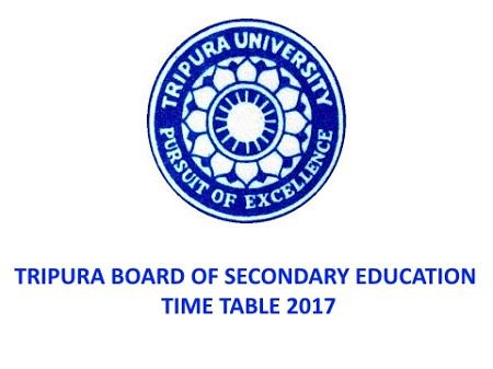 Tripura Class 10 Time Table