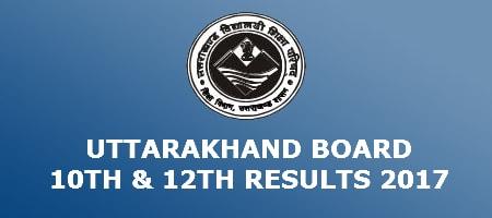 Uttarakhand Board Results 2017