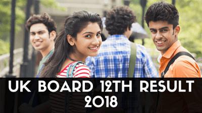 UK Board 12th Result 2018