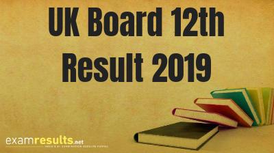 UK Board 12th Result 2019