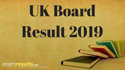 UK Board Result 2019
